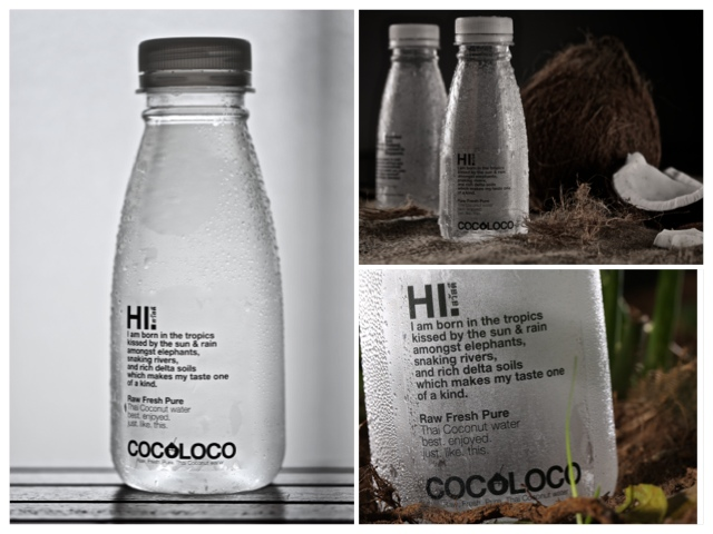 Fresh, bottled coconut water in Singapore!