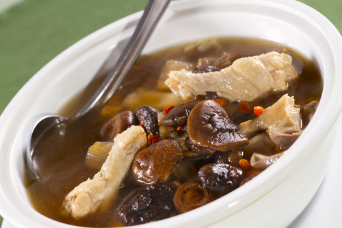 Chinese tradition: Chinese herbal soup