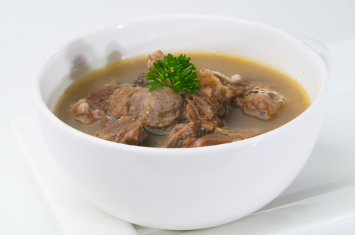 Malay tradition: Beef soup