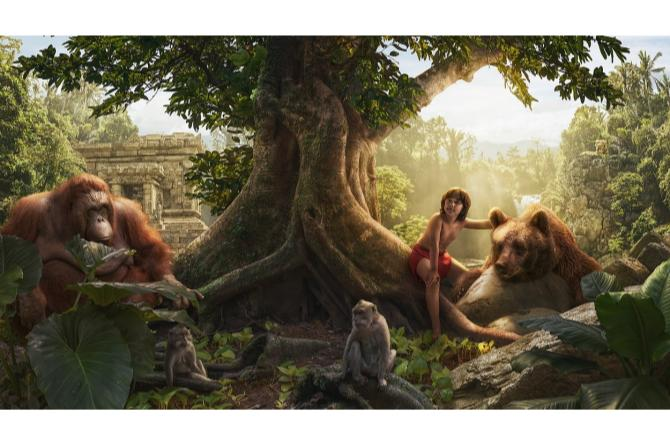 Nic as Mowgli from The Jungle Book