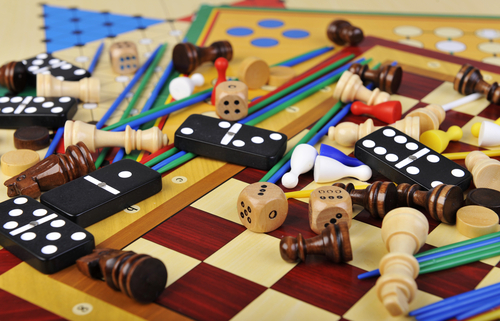 Board-games and puzzles