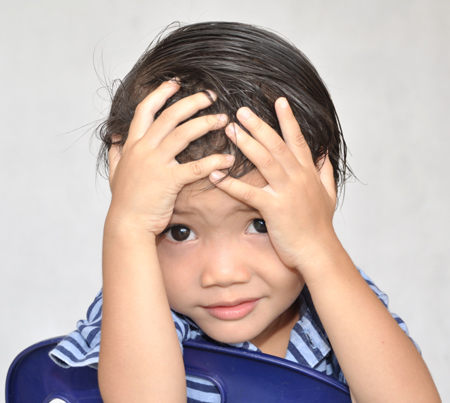 Dealing with a stressed kid