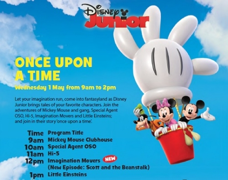 Once upon a time on Disney Junior