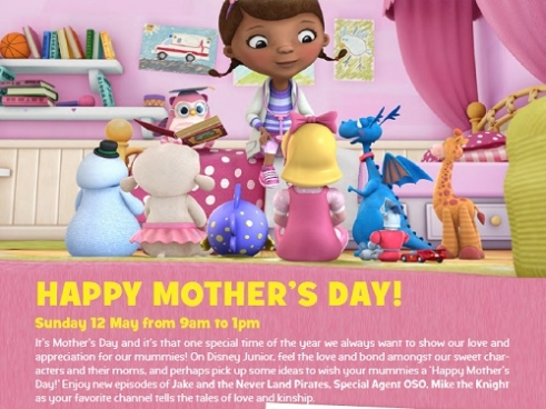 Mothers' Day Special on Disney Junior