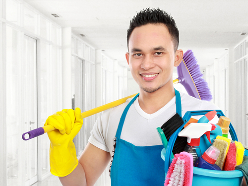 Get help for household chores when needed