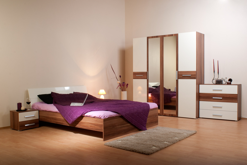 Decorative items above mirrors and in bedrooms