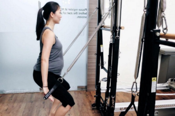 Fitness classes in Singapore for mums to get back into shape