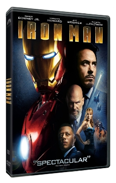 Iron Man 1 limited edition DVD package -- S$16.90