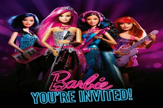 Barbie Rock n Royals