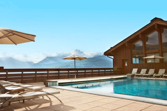 Club Med Peisey-Vallandry Outdoor Pool with View