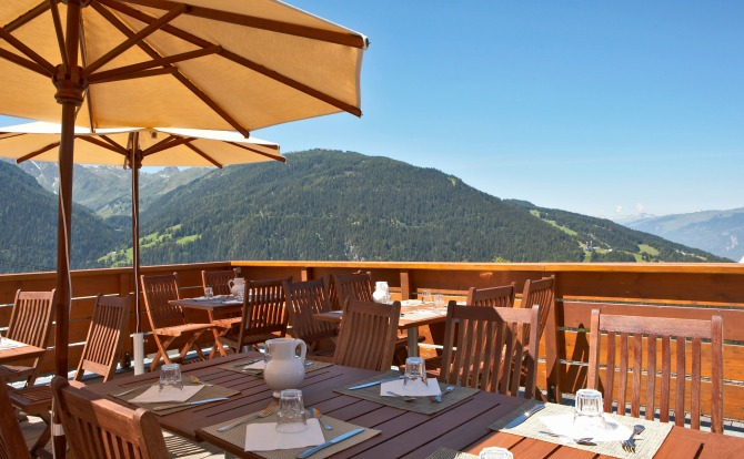 Club Med Peisey-Vallandry Terrace with Mountain View