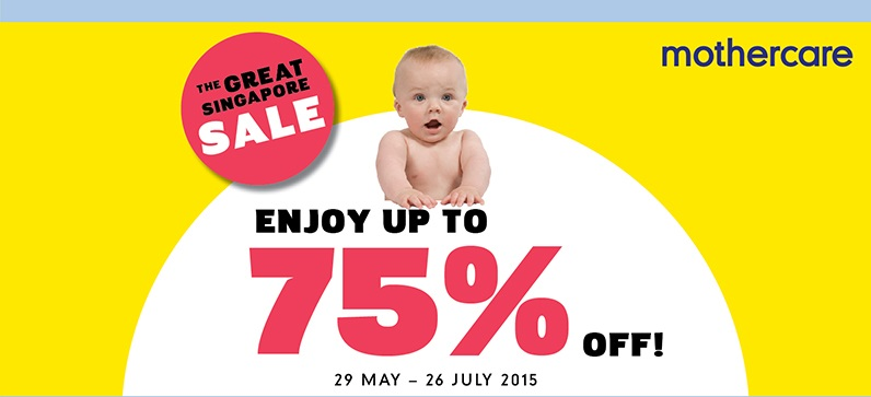 Mothercare Great Singapore Sale