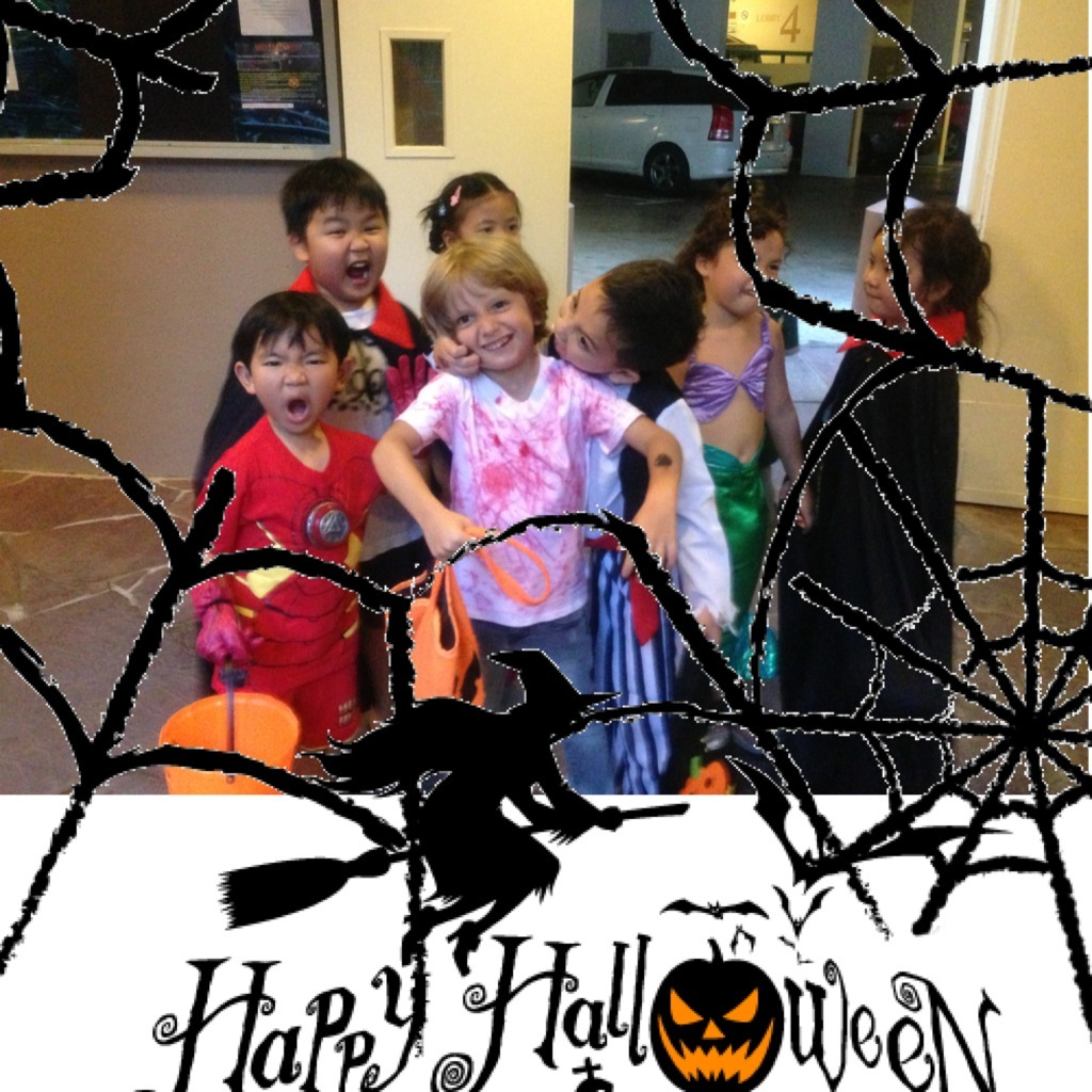 Josh and Pals Trick or Treat-ing