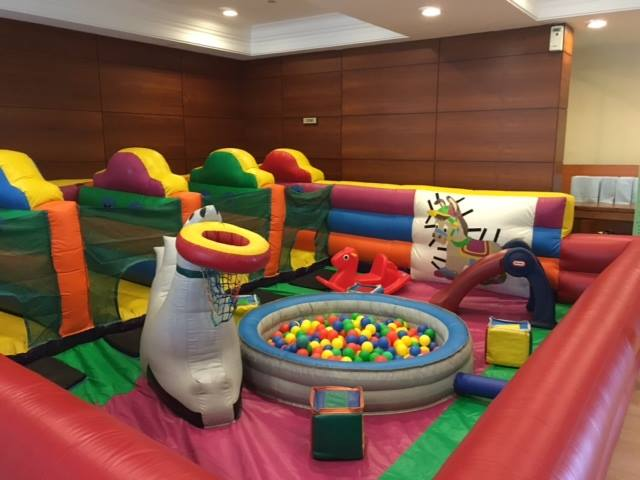 Bouncy castle theme