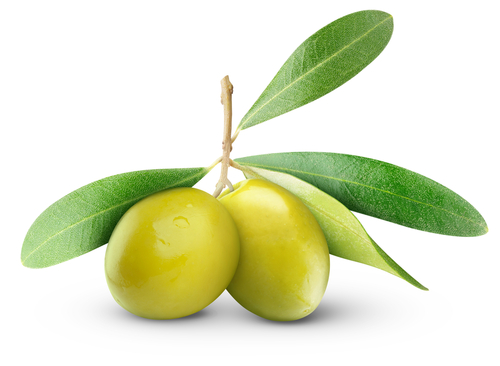 Green olives for nausea