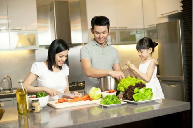 Involve your toddler in simple cooking and food preparation