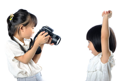 Give your child the video camera and have them chronicle a day in the life of your family.