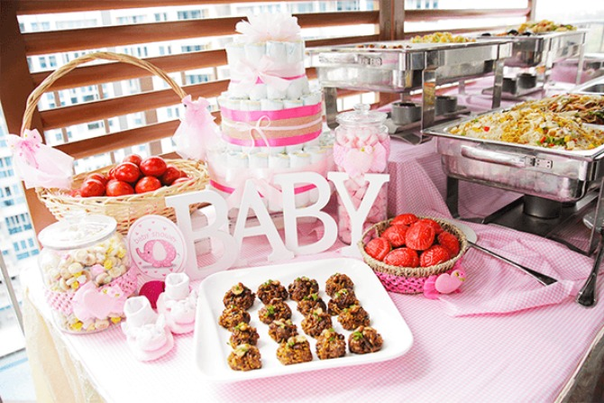 3. Shiok! Kitchen Catering's Baby Shower Package
