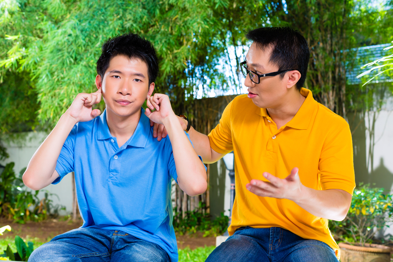 10. Don't force your child to talk