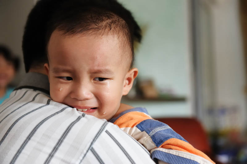 9. Allow your child to show their emotions