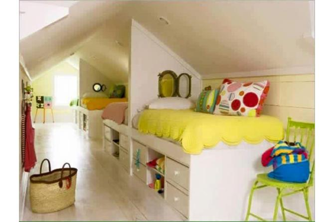 19. For families with plenty of kids but little space, this is a neat solution that saves on space but also gives them privacy as well