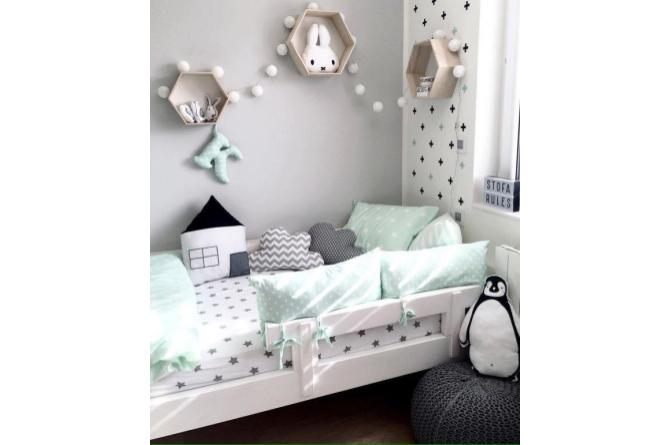5. Use grey and light colors for a fresh and airy look that's easy on the eyes