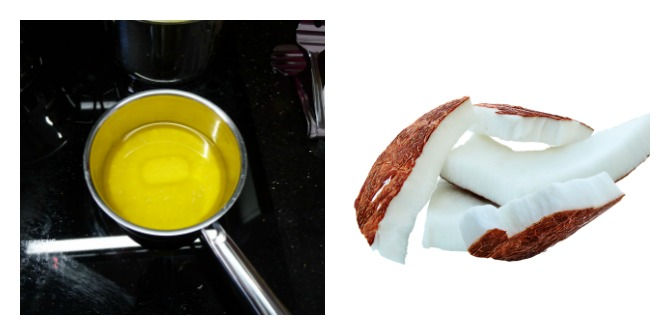 Diet - Ghee and coconut