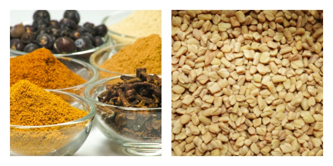 Diet - Nuts and Spices