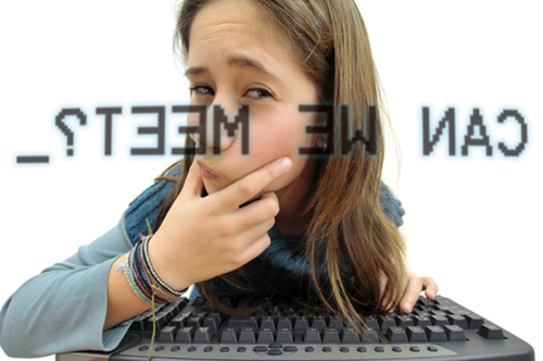5. Talk to your kids about online stranger dangers.