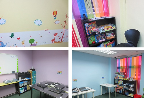 Bright and interactive classrooms