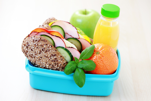 Try to send something healthy for your children's snacks