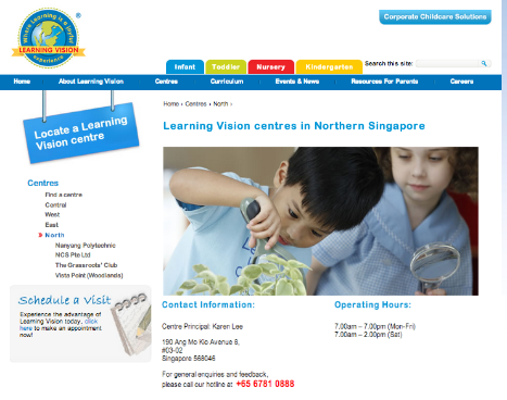 Learning Vision Centre