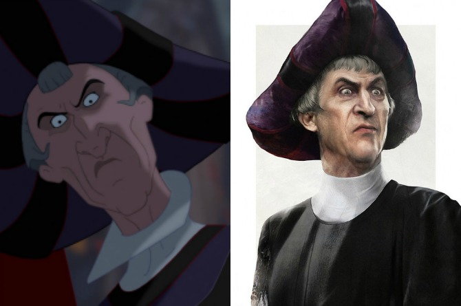 Claude Frollo (The Hunchback of Notre Dame)