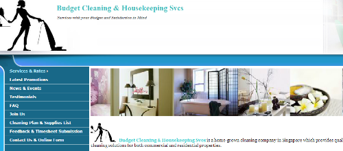 Budget Cleaning & Housekeeping