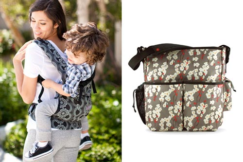 7. Baby Carriers and Diaper Bags