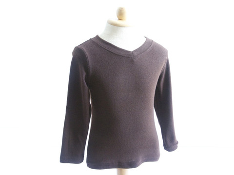 10. Brown sweater with elbow patch