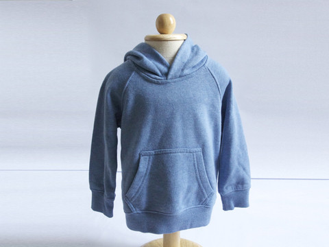 11. United Colours of Benneton blue hoodie
