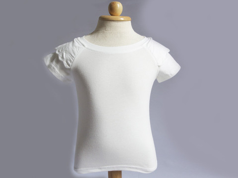 16. White t-shirt with embroidery