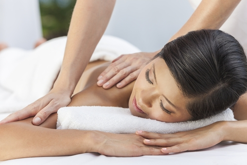 3. Home spa and massage