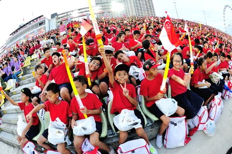 Watch the amazing National Day Parade (NDP)