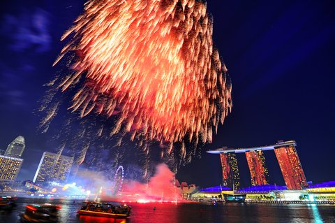 Catch the spectacular NDP fireworks!
