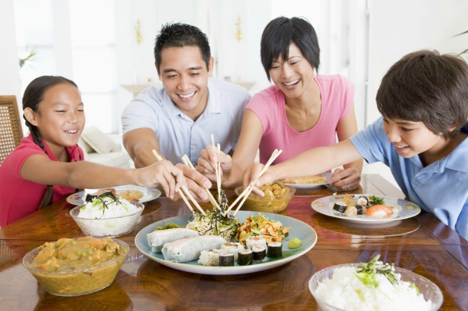 Non-traditional Chinese New Year Reunion Dinners