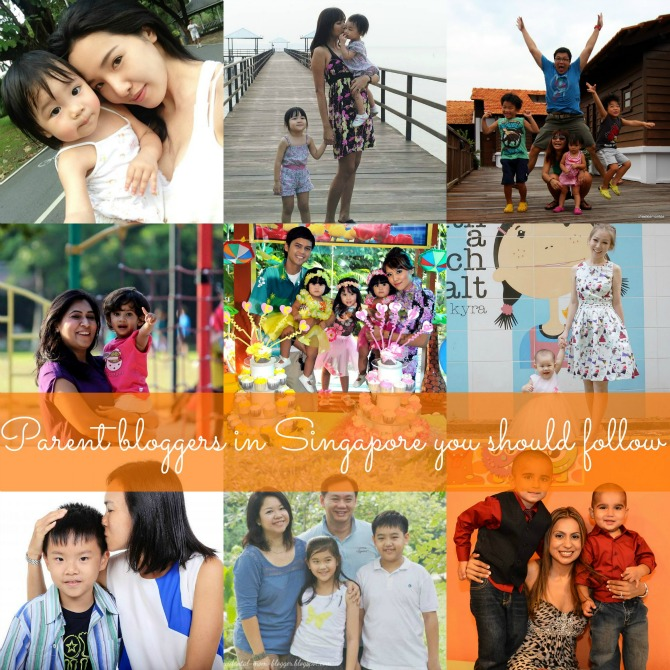 Top parenting blogs singapore