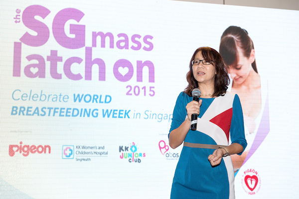 PIGEON and KK Women's and Children's Hospital celebrate World Breastfeeding Week in Singapore