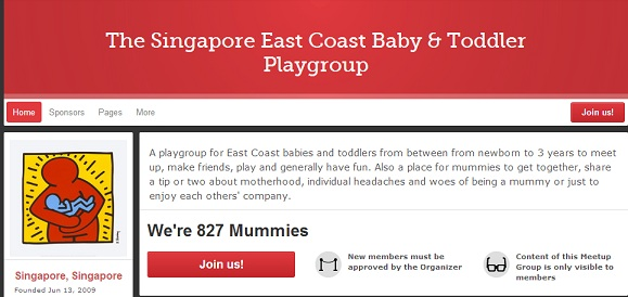 Singapore East Coast  Baby and Toddler Playgroup