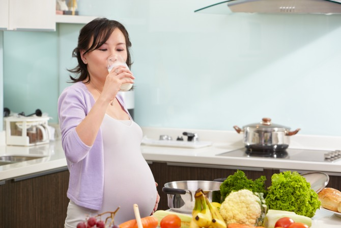 The link between mummy's and baby's nutrition during pregnancy and after