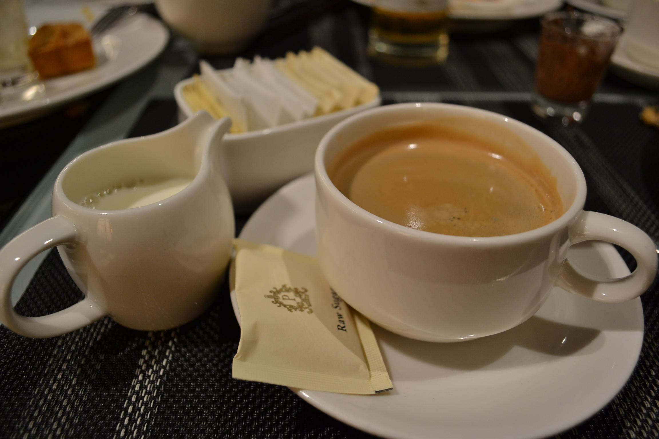 Coffee to wrap up a great meal!
