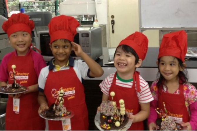 Creative Culinaire's September Holiday Junior Classes