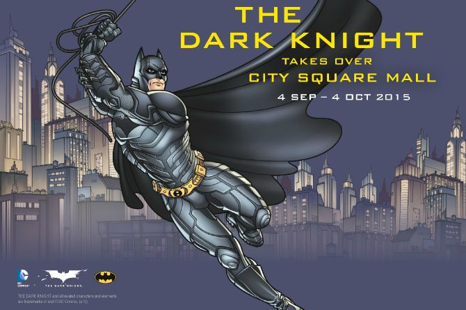 The Dark Knight Takes Over City Square Mall