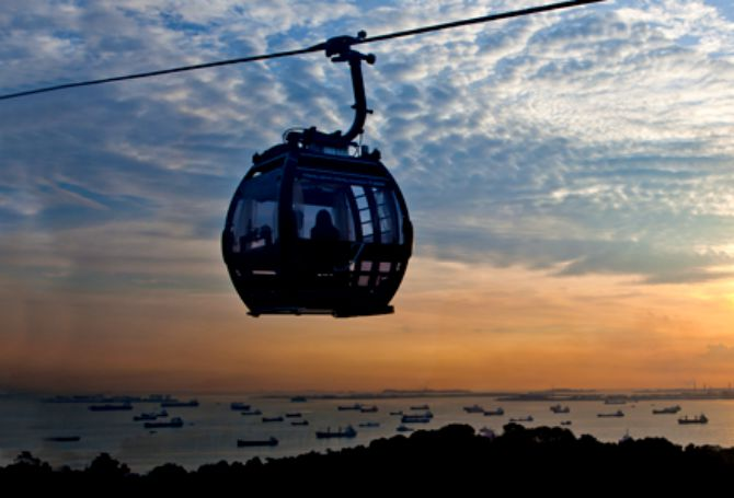 Junior Price for all Singaporeans and Local Residents for New Cable Cars at Sentosa
